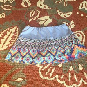 Lucky in love skirt skort colorful EUC